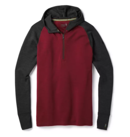 Smartwool Mens Merino 250 Baselayer Hoody Tibetan Red Heather