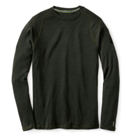 Smartwool Mens Merino 250 Baselayer Crew Olive Heather