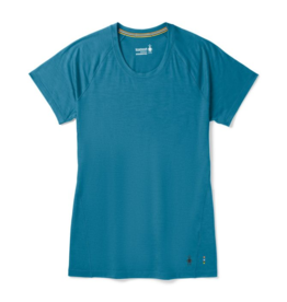 Smartwool Womens Merino 150 Baselayer Short Sleeve LIGHT MARLIN BLUE