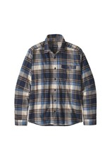 Patagonia Mens LW Fjord Flannel Shirt Buttes: New Navy