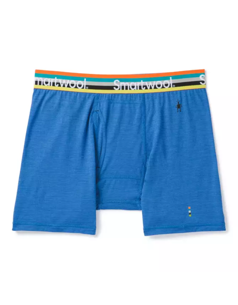 Smartwool Men's Merino 150 Pattern Boxer Brief Bright Cobalt
