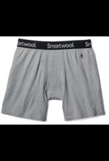 Smartwool Mens Merino 150 Pattern Boxer Brief Light Gray