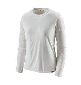 Patagonia Womens L/S Cap Cool Daily Shirt White