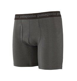 Patagonia Mens Essential Boxer Briefs - 6 in. Forge Grey