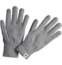 Smartwool Liner Glove Silver Gray Heather