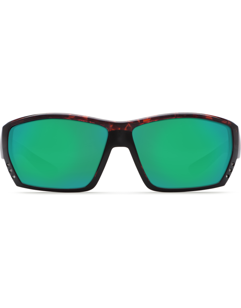 Costa Del Mar Tuna Alley Tortoise Global Fit  Green Mirror 580P