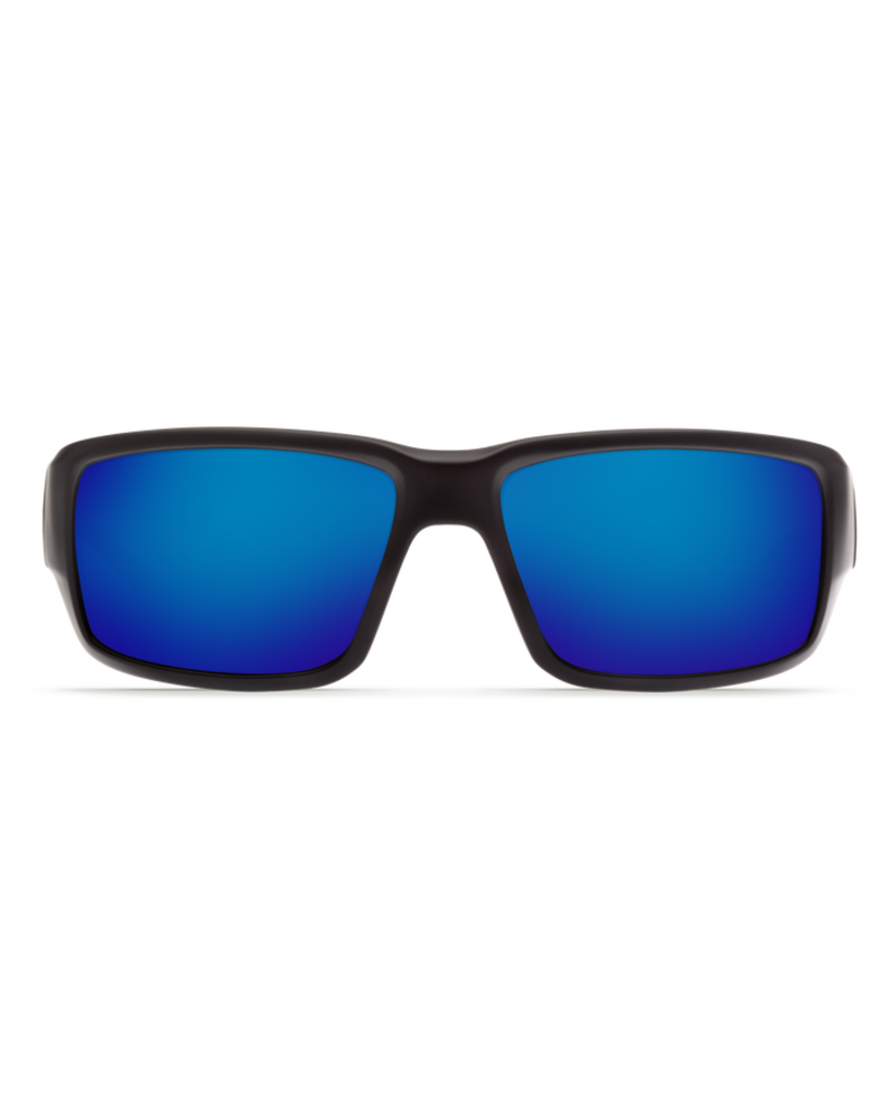 Costa Del Mar Fantail Matte Black Blue Mirror 580P