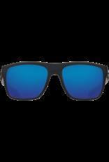 Costa Del Mar Broadbill Matte Black  Blue Mirror 580P