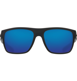 Costa Del Mar Broadbill Matte Black  Blue Mirror 580P
