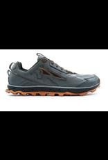 Altra Mens Lone Peak 4.5 Gray/ Orange
