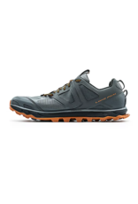 Altra Mens Lone Peak 4.5 Gray/ Orange