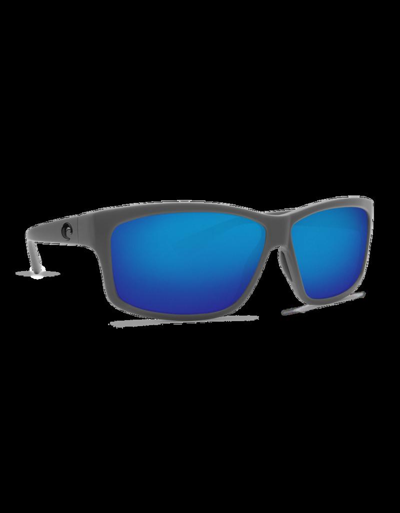 Costa Del Mar Cut Matte Gray  Blue Mirror 580G