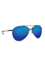 Costa Del Mar Piper Shiny Black  Blue Mirror 580G