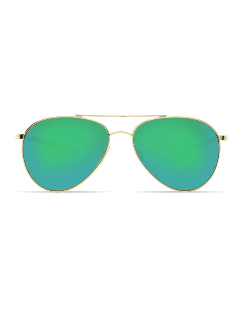 Costa Del Mar Piper Shiny Gold  Green Mirror 580G