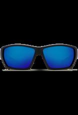 Costa Del Mar Tuna Alley Matte Black  Blue Mirror 580P C-Mate 2.50