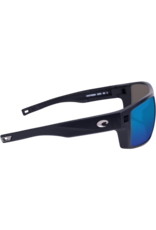 Costa Del Mar Diego Matte Black Blue Mirror 580G