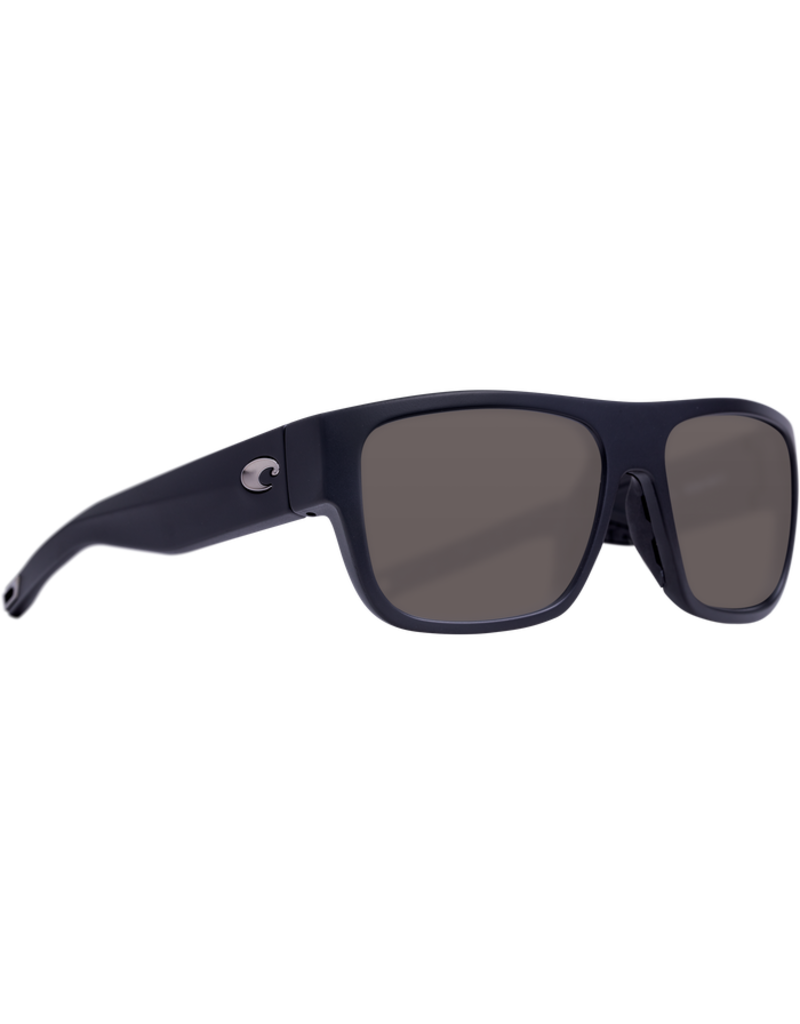 Costa Del Mar Sampan Matte Black Gray 580P