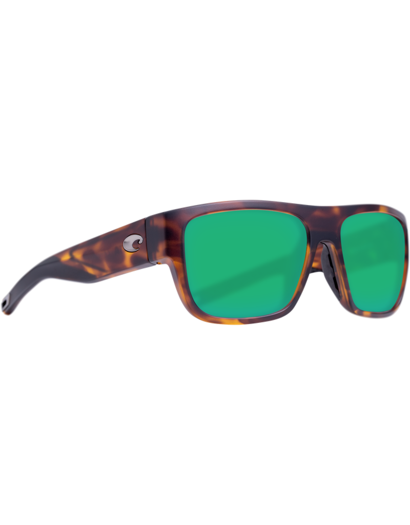 Costa Del Mar Sampan Matte Tortoise Green Mirror 580G