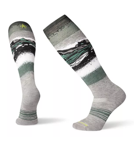 Smartwool PhD Snow Medium Light Gray