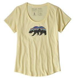 Patagonia Womens Fitz Roy Bear Organic Scoop T-Shirt REYE