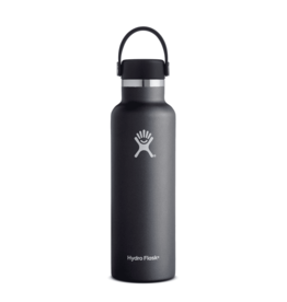 Hydroflask 21oz Standard Mouth Black