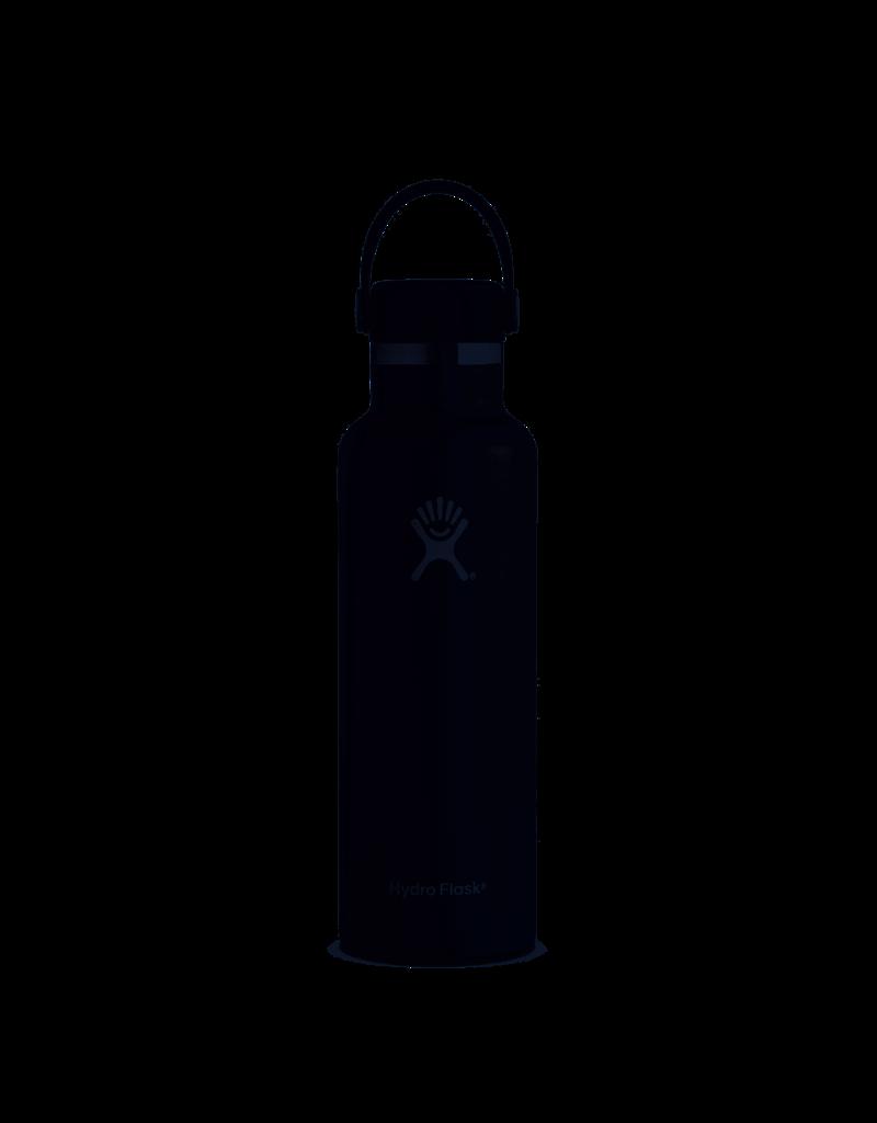 Hydroflask 21oz Standard Mouth Black
