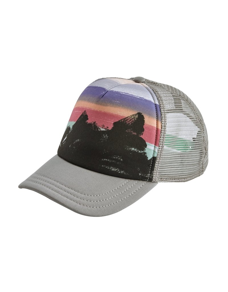 Patagonia Womens Free Hand Fitz Roy Interstate Hat Forge Grey ALL