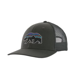 Patagonia Fitz Roy Bear Trucker Hat Forge Grey