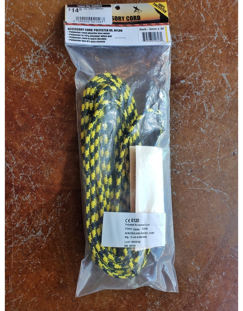 Liberty Mountain New England 5mm Accessory Cord - Package of 30 ft.