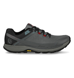 Topo Athletic Mens Runventure 3 Gray/Red