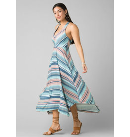 Prana Josepina Maxi Dress Teal Pontoon