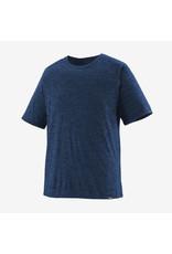 Patagonia Mens Cap Cool Daily Shirt Viking Blue - Navy Blue X-Dye