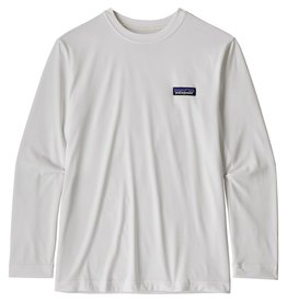 Patagonia Boy's L/S Cap Cool Daily T-Shirt P-6 Label