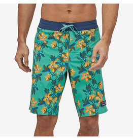 Patagonia Mens Stretch Wavefarer Boardshorts - 21 in. Squash Blossom: Light Beryl Green