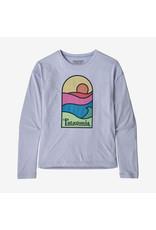 Patagonia Girls' L/S Cap Cool Daily T-Shirt