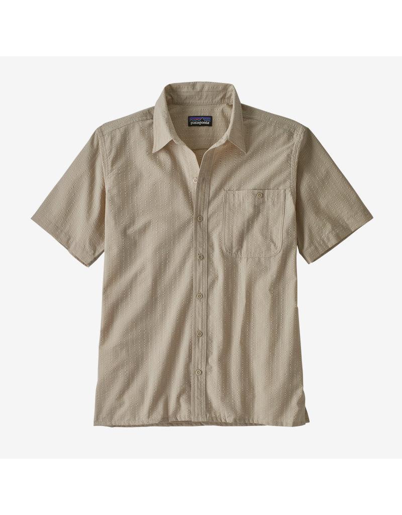 Patagonia Mens Puckerware Shirt Sandbank
