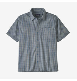 Patagonia Mens Puckerware Shirt Pebble Plaid