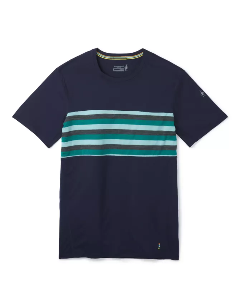 Smartwool Mens Merino 150 Colorblock Short Sleeve