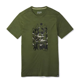 Smartwool Mens Merino Sport 150 Mountain Ventures Tee