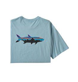 Patagonia Mens Fitz Roy Fish Organic T-Shirt