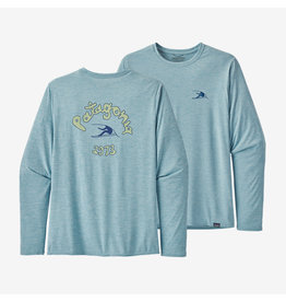 Patagonia Men's L/S Cap Cool Daily Graphic Shirt