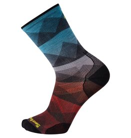Smartwool PhD Cycle Ultra Light Mountain Mesh Print Crew