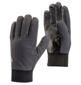 Black Diamond Midweight Softshell Gloves Smoke