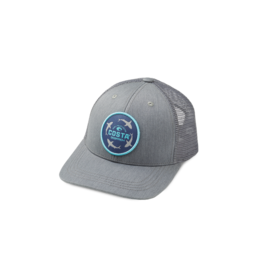 Costa Del Mar Ocearch Circle Shark Trucker Hat Gray/Gray