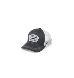 Costa Del Mar Costa Chatham Shark Twill Trucker Hat