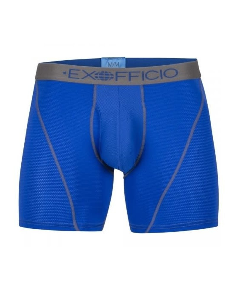 "Exofficio Men's Give-N-Go Sports Mesh Boxer Briefs 6"""