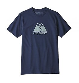 Patagonia M's Live Simply Winding Responsibili-Tee