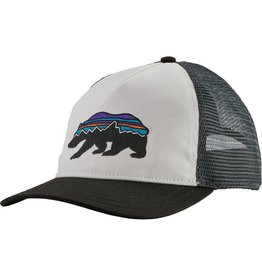 Patagonia Womens Fitz Roy Bear Layback Trucker Hat White ALL