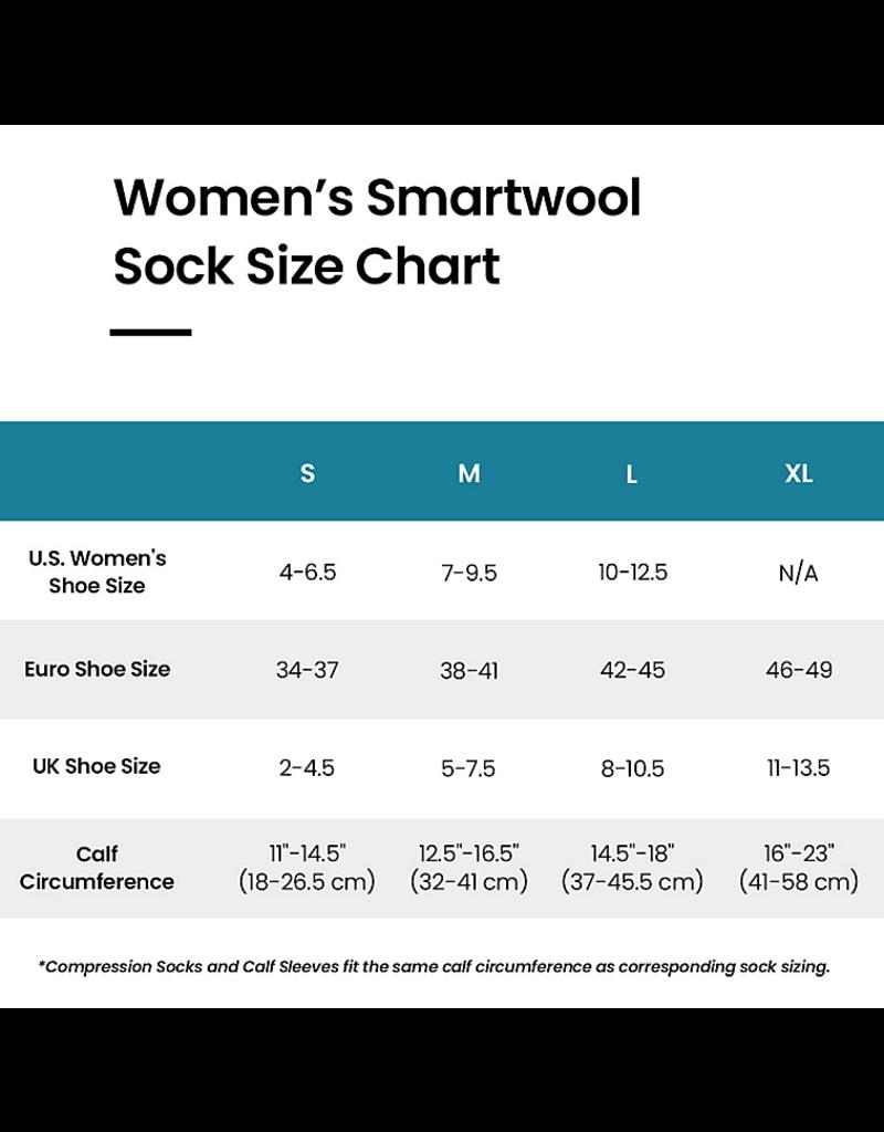Smartwool Womens PhD Outdoor Light Pattern Crew Medium Gray