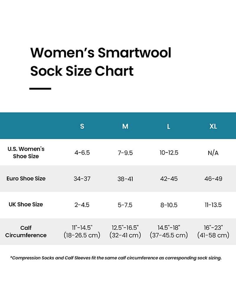 Smartwool Womens PhD Pro Approach Crew
